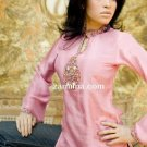 Rose Pink Silk Kurta