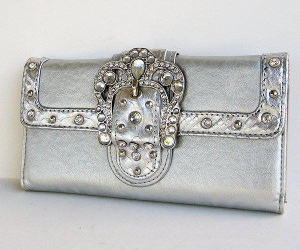 Silver Clutch