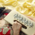 Gold Crystals Clutch