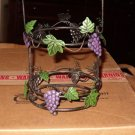 GRAPE CANDLE HOLDER LANTERN STYLE