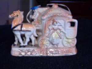 VINTAGE HORSE TV LAMP