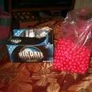 Big Ball .68 Caliber Paintballs    red- pink