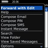 Forward with Edit (Blackberry)
