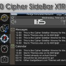 Cipher Sidebar Extreme (Blackberry 8900)