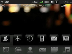 HTC Diamond Theme (Blackberry TOUR)