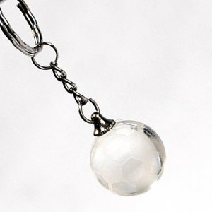 357 Crystal Football keyring
