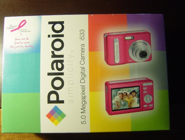 New Polaroid i533P 5MP Digital Camera i533 Pink