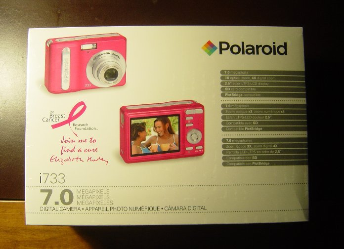 New Polaroid Pink i733LP 7MP Digital Camera i733