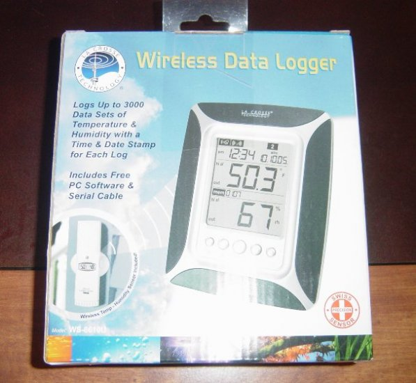 New LaCrosse Wireless Temperature/Humidity Data Logger