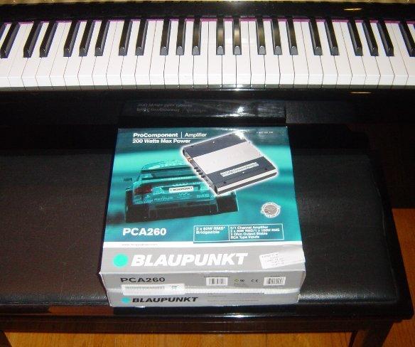 Blaupunkt ProComponent Amp Amplifier 2 Channel PCA260