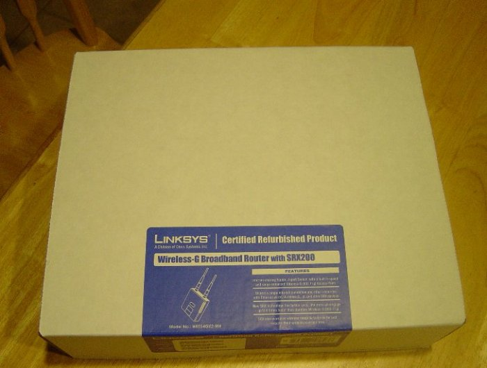 Linksys SRX200 802.11g Broadband SRX Wireless Router