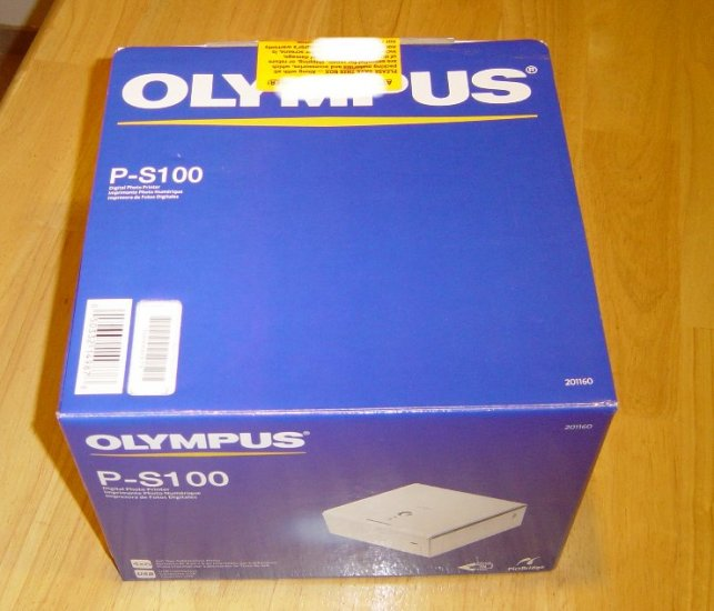 Brand New Olympus P-S100 Dye Sublimation Photo Printer