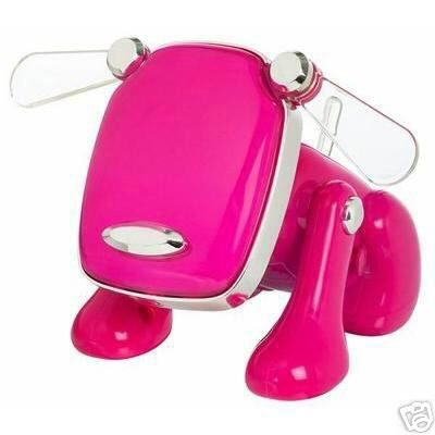 New iDog Pink HASBRO iPod Pet plays Mp3 NIB