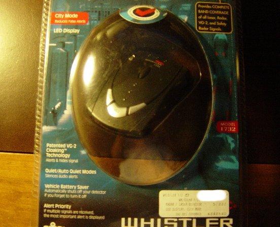 New Whistler DE1732C LED Display Radar Detector