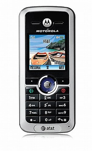 New Motorola C168i Color Phone + SIM card + $10 Airtime