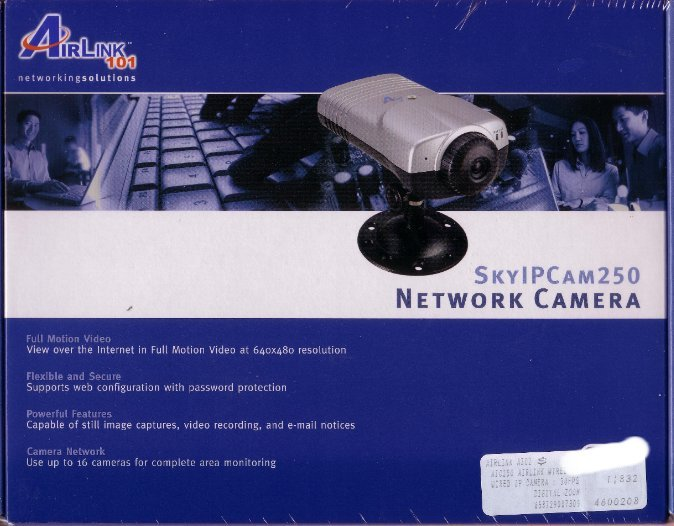 New Airlink Wired Network IP Security Camera Webcam