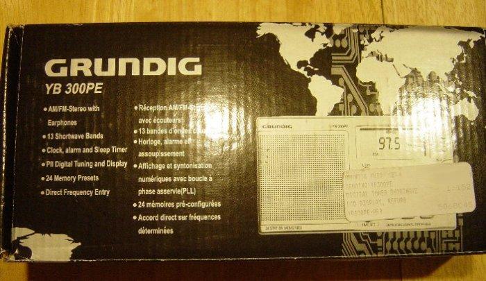 Grundig YB300PE AM/FM Shortwave Radio