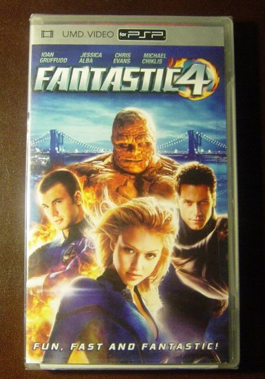 New Fantastic Four/4 UMD Video Movie for PSP SEALED