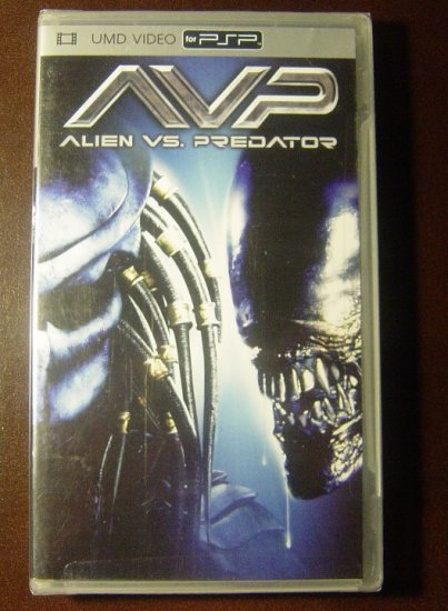 New AVP Alien vs. Predator 2006 UMD Video Movie for PSP SEALED