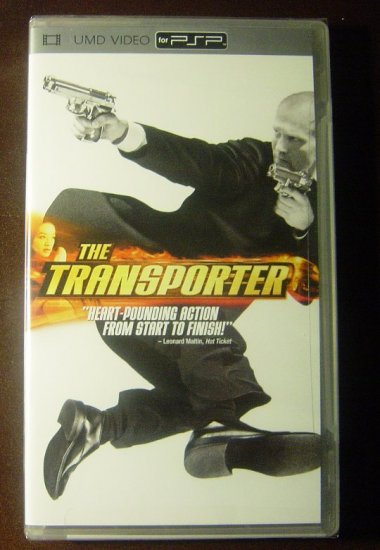 New The Transporter 2005 UMD Video Movie for PSP Sealed