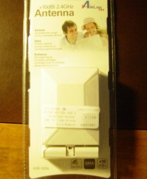 New Airlink SMA Wireless +10dbi Patch Directional Antenna Gain