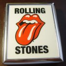 Rolling Stones Stainless Steel Cigarette Case ID # 0044