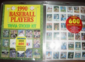 1990 Baseball Stickers Mint in Brand New Condition