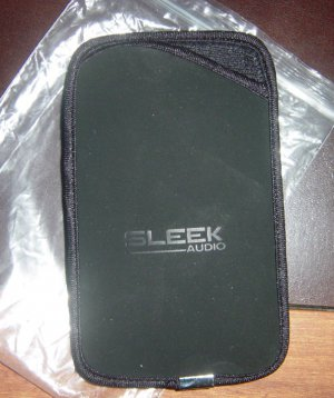 Sleek Audio pouch/bag for SA6 earphone/wireless adapter
