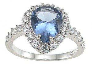 Prong Anniversary Ring