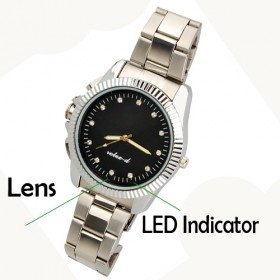 Special Hidden Micro Spy Camcorder Watch with 2GB Memory Built In/Hidden Camera
