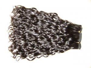 Machine Weft Human Indian Remy Hair 4oz