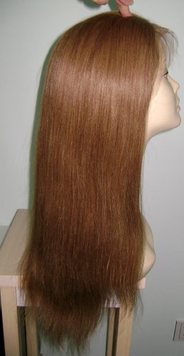 "Full Lace Wig 18"" 10# Light Yaki"