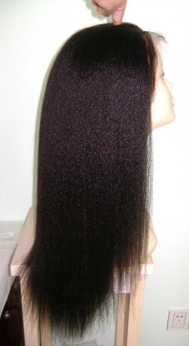 """Full Lace Wig 20"""" Kinky Stright $290/Free Shipping"""