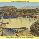 Nevada Lookout Point, Boulder Dam Boulder Canyon Project of the Burea of Reclamation, linen