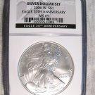2006 Aniversary Silver Dollar Set