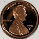 1991 S Lincoln Proof #1310