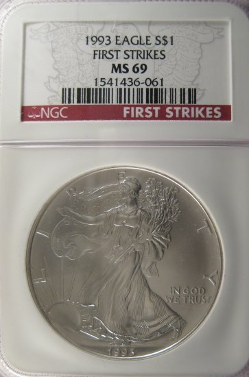 1993 ASE First Strike MS69 #2941