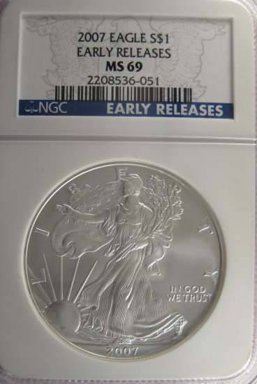 2007 ASE Early Release MS69 #2956