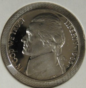 1985-S Jefferson Proof #3072