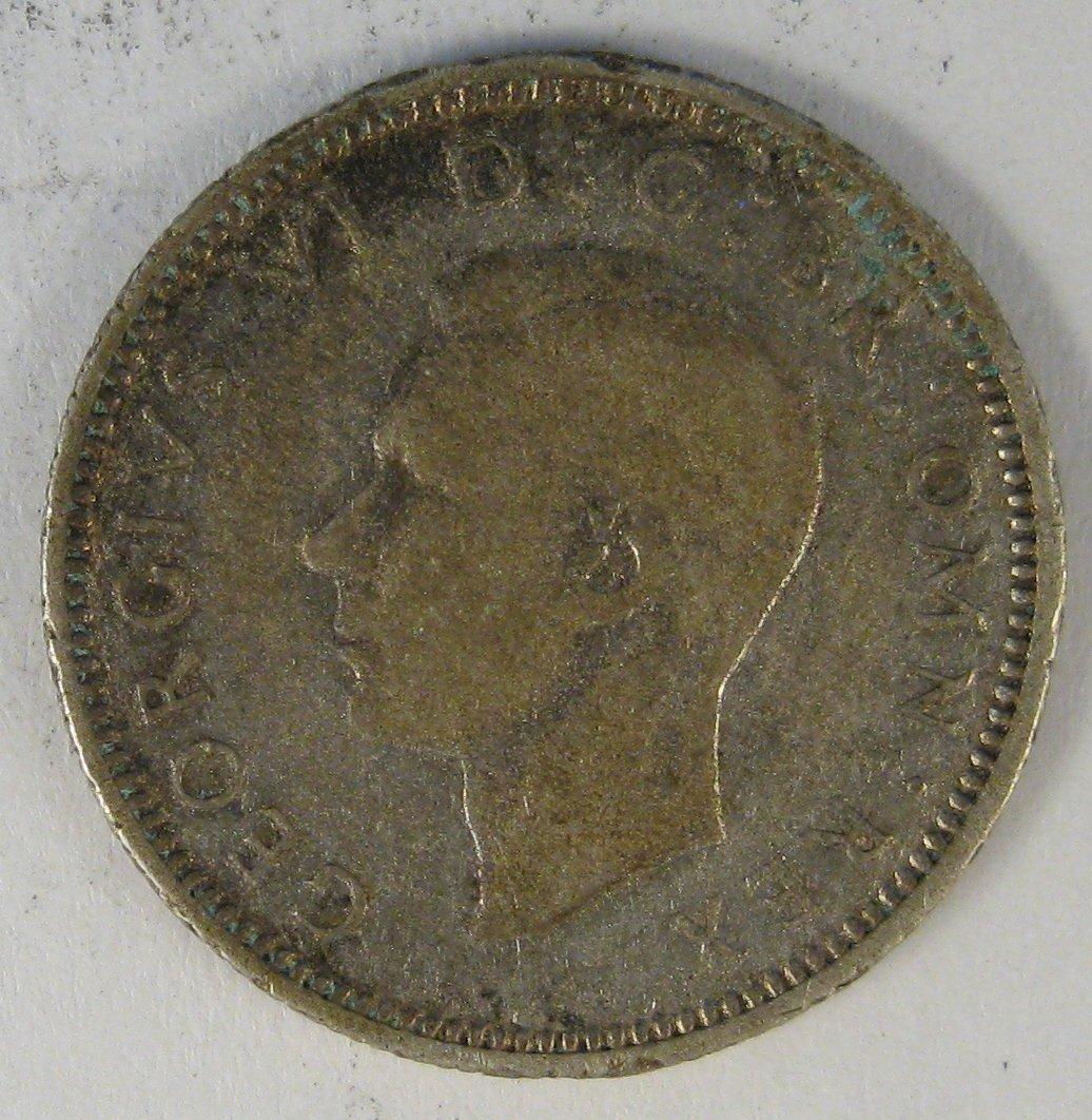 1941 British 6 Pence #4105