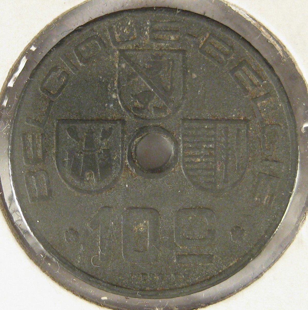 1941 Belgium 10 centimes #4108