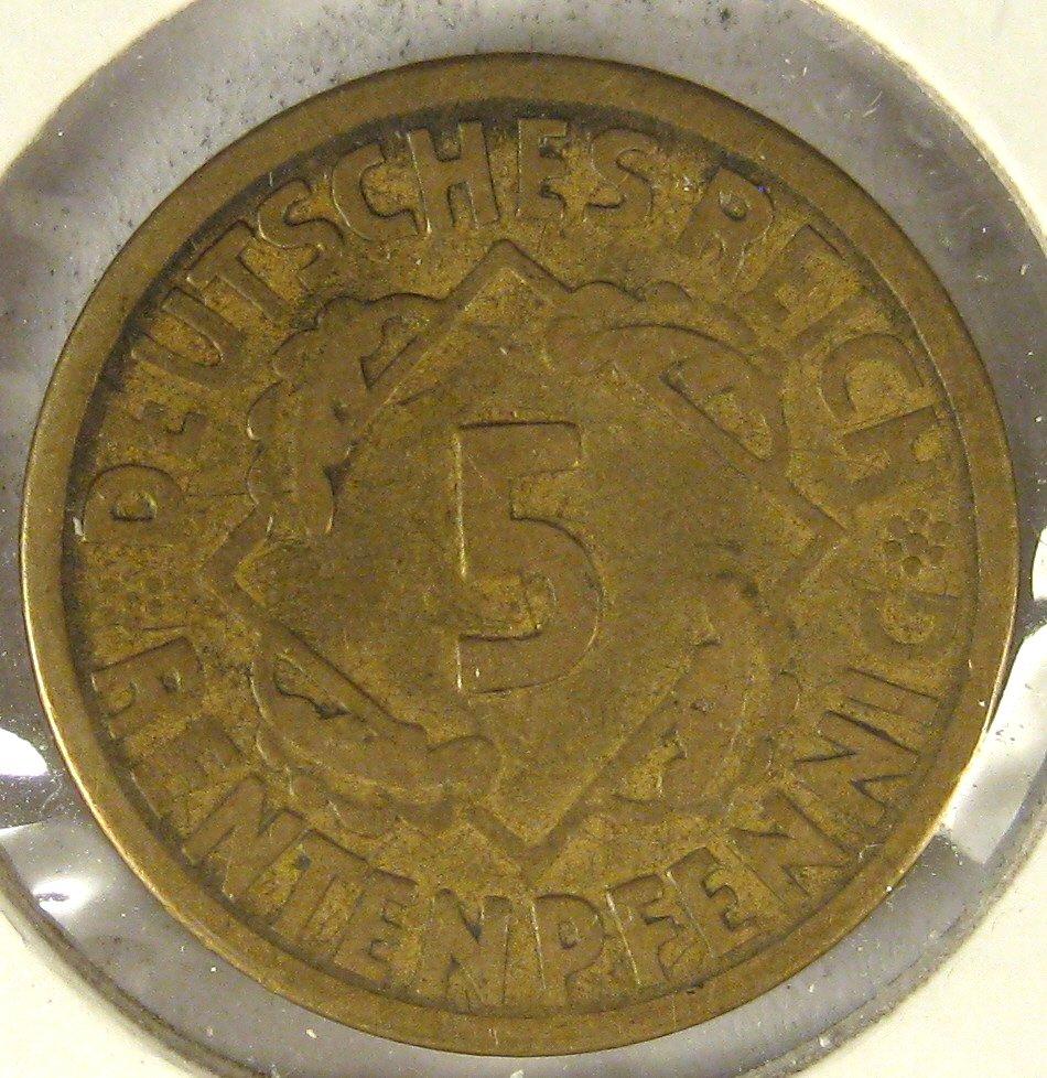 1924A German Weimar Rep #4115