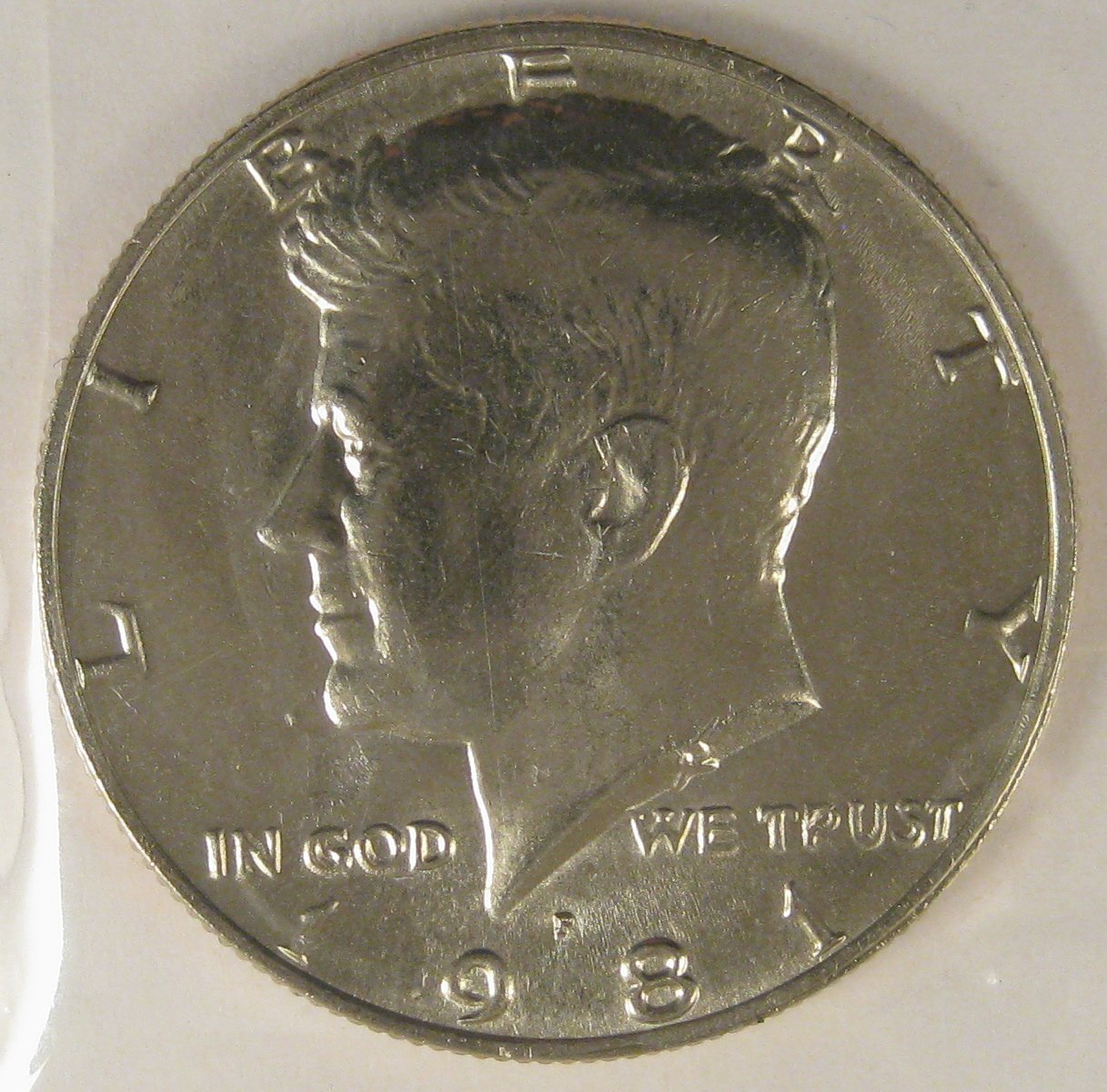 1981 Kennedy UNC #4125