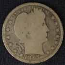 1897 Barber Quarter #4387