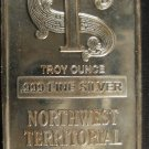 1 ounce silver bar #4480