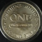 1 Ounce Silver Round #4490