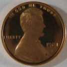 1981-S Lincoln Proof TY II #4834