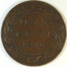 1910 Canada Large Cent #4995