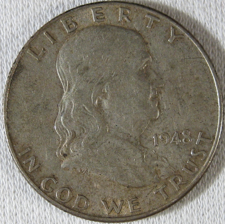 1948-D Franklin #4030