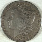 1878-S Morgan Funky Feather #5025